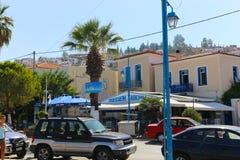 希腊九头蛇海岛 库存照片