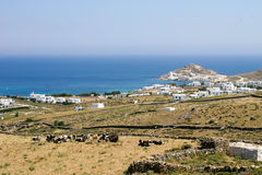 希腊乡下 免版税库存图片