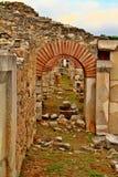 希腊人的曲拱 库存照片