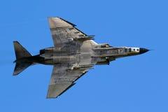 希腊人空军队F4幽灵喷气式歼击机 免版税库存图片