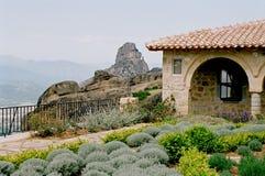 希腊修道院st stefan 免版税库存图片