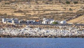 希腊公墓 图库摄影