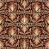 希腊几何装饰充满活力的传染媒介无缝的样式 被仿造的现代几何背景 装饰现代的重复 向量例证