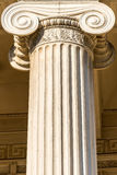 希腊列 免版税图库摄影