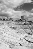 希腊剧院 免版税库存照片