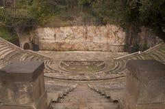 希腊剧院 免版税库存图片