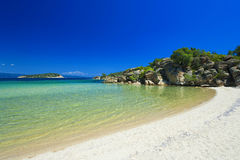 希腊半岛sithonia 免版税图库摄影