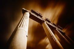 希腊古老荣耀 库存图片