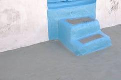 希腊台阶 免版税库存图片