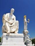 希腊哲学家 库存图片