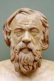 希腊哲学家Socrates 库存照片