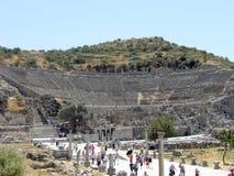希腊圆形剧场 免版税图库摄影