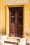 希腊土窖在公墓在科普特人的开罗 免版税图库摄影