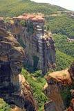 希腊圣洁修道院 免版税库存图片