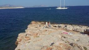 希腊圣洁查找山夏天 免版税库存照片