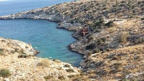 希腊圣洁查找山夏天 库存图片