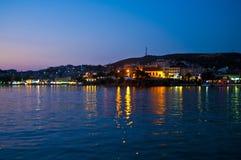 希腊城市scape 免版税库存图片