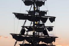 希腊塞萨罗尼基船吸引力 库存照片