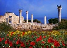 希腊大厦 图库摄影