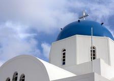 希腊大教堂 免版税库存照片