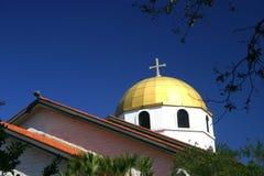 希腊大教堂 免版税库存图片