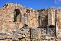 希腊奥林匹亚奥林匹亚废墟  图库摄影