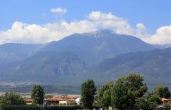 希腊奥林匹斯山 库存照片