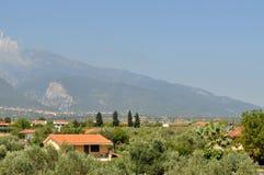 希腊奥林匹斯山 图库摄影