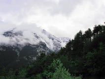 希腊奥林匹斯山 库存图片