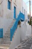 希腊家 库存照片