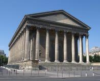希腊寺庙 免版税库存图片