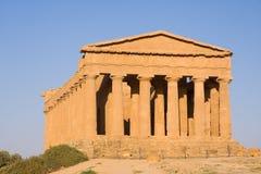 希腊寺庙 图库摄影