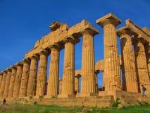 希腊寺庙 库存照片