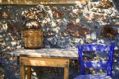 希腊小酒馆 免版税库存图片