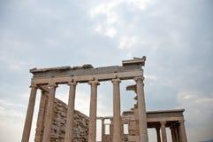 希腊废墟 免版税库存照片