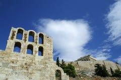 希腊废墟 库存照片