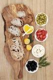 希腊开胃小菜 免版税库存照片