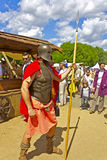 希腊战士 免版税库存照片