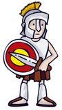希腊战士 免版税库存图片