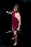 希腊战士 库存图片