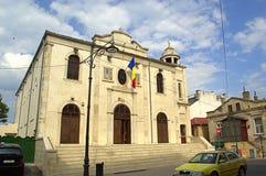 希腊教会在康斯坦察,罗马尼亚 免版税库存图片