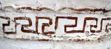 希腊教会细节 库存照片