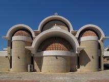 希腊教会 库存照片