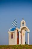 希腊教堂 免版税库存图片