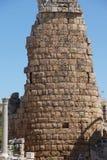 希腊文化的门的塔 库存图片