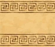 希腊无缝的样式 免版税库存图片