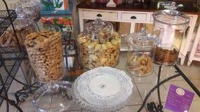希腊曲奇饼 库存照片