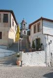 希腊村庄xanthi 库存照片