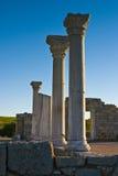 希腊柱子 免版税图库摄影