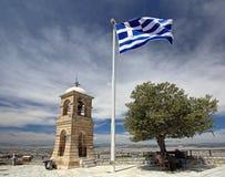 希腊标志希腊 免版税库存图片